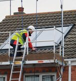 Easi Dec Solar Dec in use