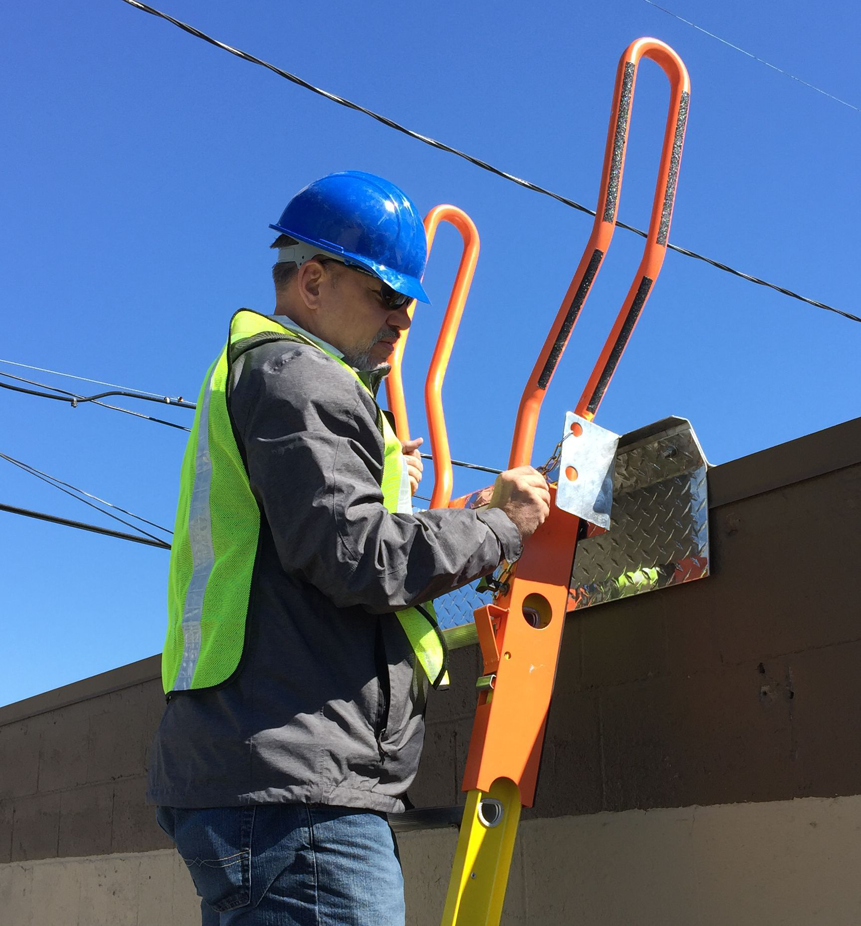 Ladder Dock Tie Off Ladder Safety Company