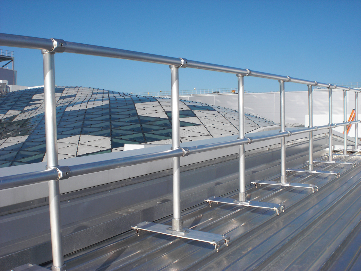 Roof Edge Railings Rooftop Safety Equipment Roof Top