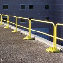 Roof Edge Railings yellow
