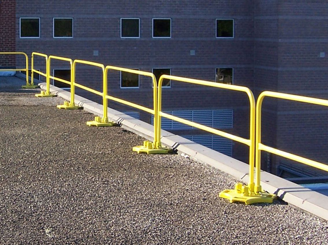 Roof Edge Railings   Rooftop Safety Equipment   Roof Top ...