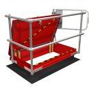 Roof Hatch Railing model RHSR-FB 3054 rigth