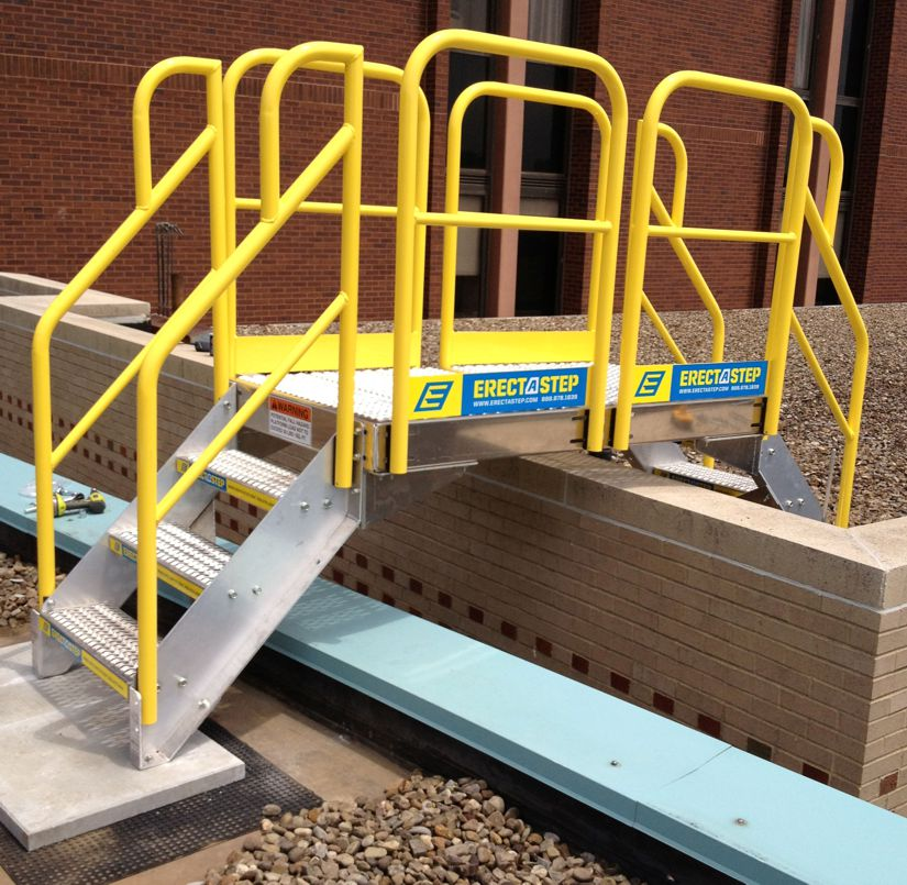 Crossover Stairs And Platforms Ladder Safety Company