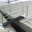 Rooftop Stair Railing